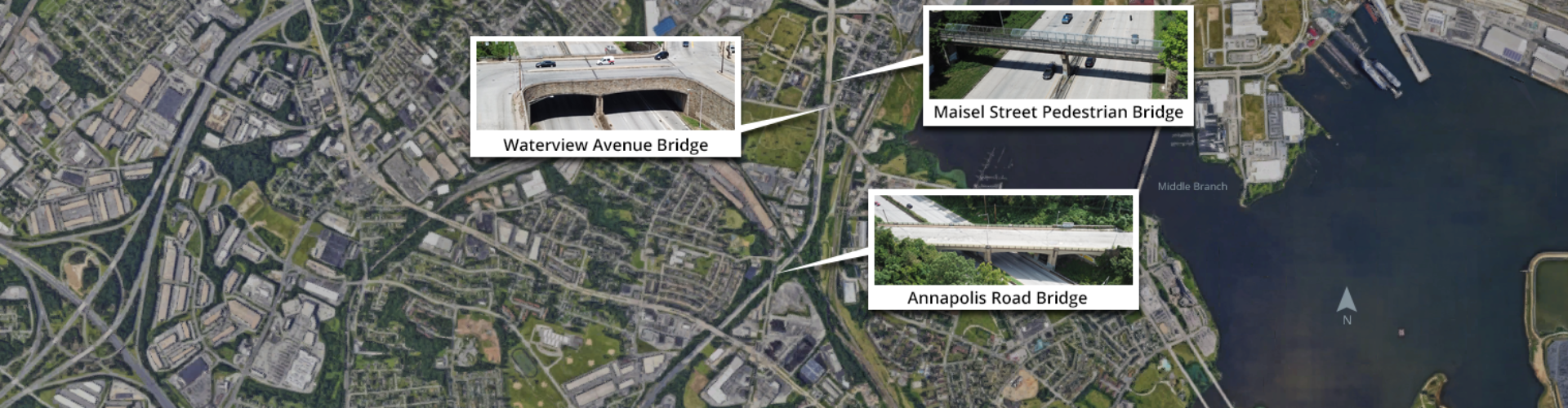 MD 295 Triple Bridge Replacement
