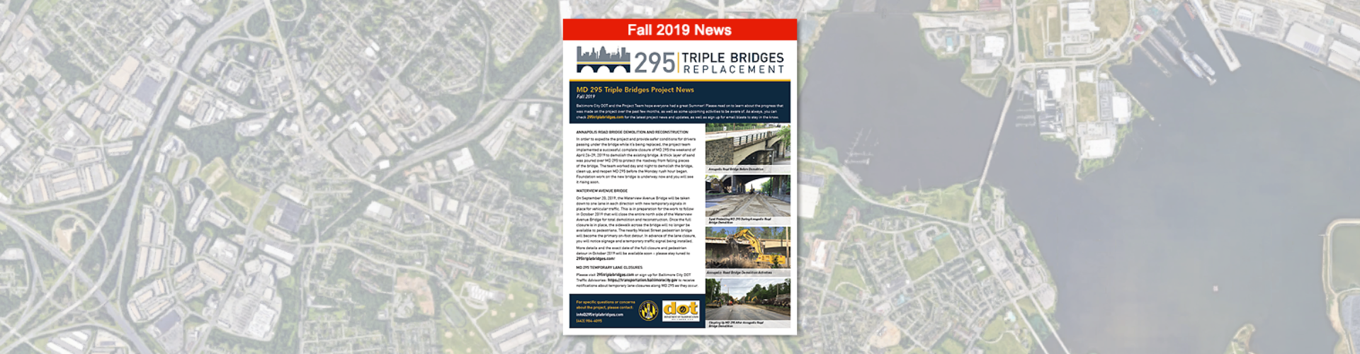 295 Triple Bridges - Fall 2019 Project News